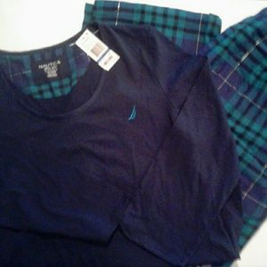 NWT Nautica Pajama set XL
